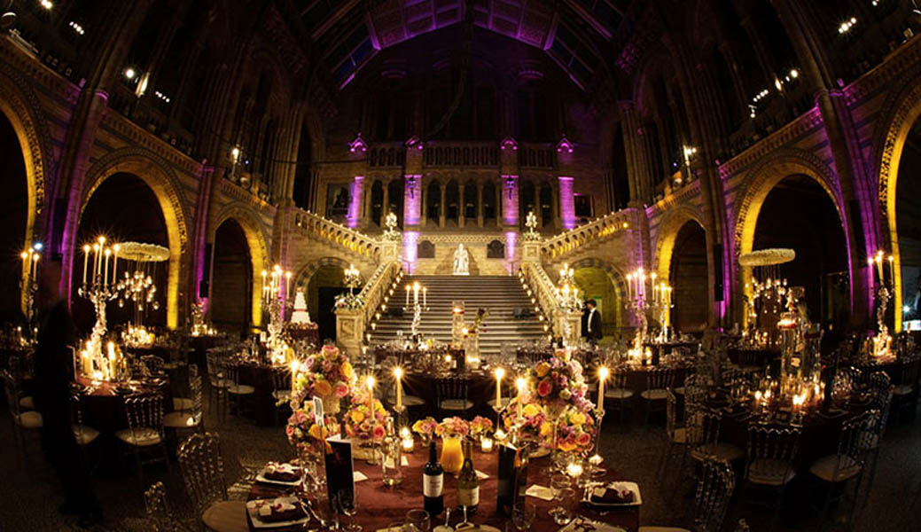 Globestar Hintze Hall Wedding