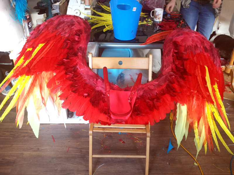 Globestar Wings Costume